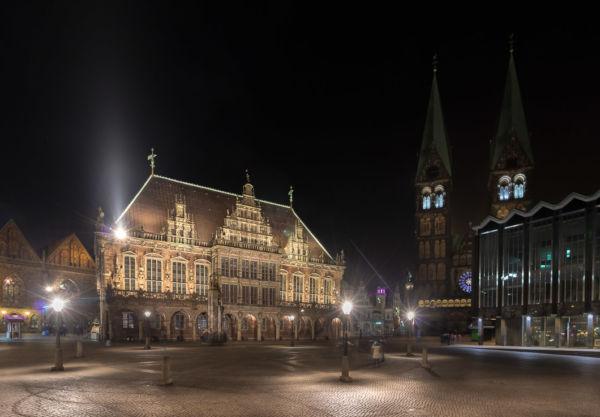 Bremer Rathaus und Marktplatz