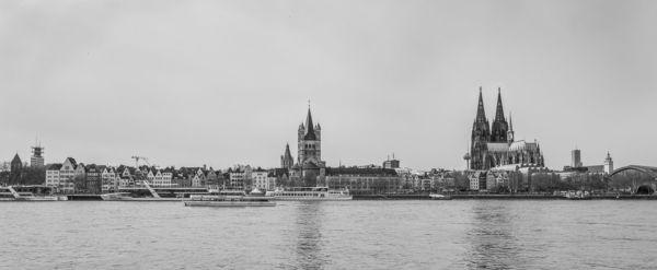 Rheinufer & Kölner Dom